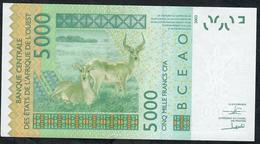 W.A.S. NIGER  P617Hq 5000 FRANCS (20)17 2017 UNC. - West African States