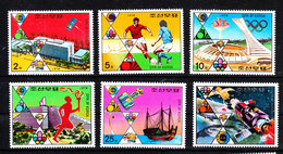 """Corea Nord   - 1976."""" Avvenimenti """" . Olimpiadi E Mondiali Calcio. """"Events"""". Olympic Games And Football World Cup. MNH - Estate 1976: Montreal"""