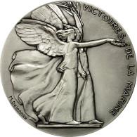 France, Médaille, Première Guerre Mondiale, Victoires De La Marne, Delannoy - France