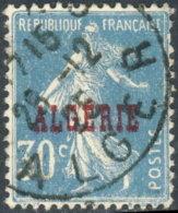 Algérie 1924. ~ YT  17  - 30 C. Semeuse - Gebraucht