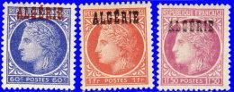 Algérie 1945. ~ YT 227 à 229* - Cérès - Algérie (1924-1962)