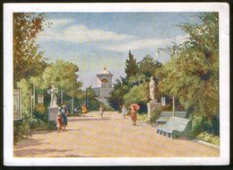 Russia USSR 1960 Stationery Pc Revaluation, New Price 1961 Evpatoria (Crimea) Holiday Park - 1923-1991 USSR
