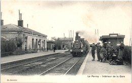 78 - Le PERRAY -- Intérieur De La Gare - Le Perray En Yvelines