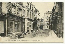52 - CHAUMONT / RUE DE CHAMARANDE - BELLE AUTO - Chaumont