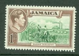 Jamaica: 1938/52   KGVI    SG130    1/-      MH - Jamaica (...-1961)