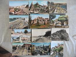 LOT  DE  530 CARTES POSTALES   DENTELEES   DE  FRANCE - Cartoline