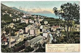 ITALIA Liguria NERVI Veduta Generale Pionnière 1907 - Other Cities