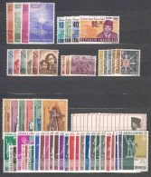 Indonesia Mint Hinged Several Complete Sets Including Asia Sport Games Complete Issue Of 24 Stamps - Indonésie
