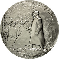 France, Médaille, Première Guerre Mondiale, Le Jour De Gloire Est Arrivé - France