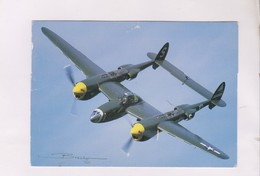 CPM AVION LOCKHEED P 38 LIGHTNING - 1946-....: Moderne
