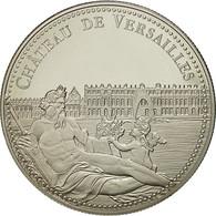 France, Médaille, Le Château De Versailles, SPL+, Cupro-nickel - France
