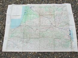 Cartes 105 X 74 Cm Tourisme Aerien Feuille 6 Sud Ouest - Maps