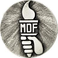 France, Médaille, Mérite Et Dévouement Français, SPL, Silvered Bronze - France