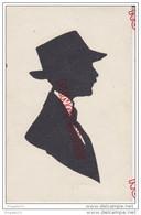 Au Plus Rapide Bourges Foire Jacques Coeur Juillet Août 1920 Silhouettiste Silhouette Homme - Non Classés