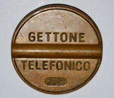 21 GETTONE TELEFONICO - NO MARCHIO - 6109 - Profesionales/De Sociedad