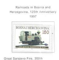 Bosnia Erzegovina  1997 Ferrovie Bosnia  Scott.277 See Scan On Page - Bosnia Erzegovina