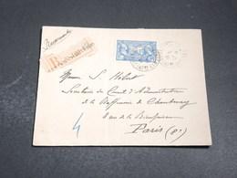 FRANCE - Légion Américaine Seul Sur Enveloppe En Recommandé En 1926 - L 20081 - Marcophilie (Lettres)