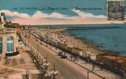 76 - LE HAVRE - La Plage Et Ll'entrée Du Port, Vues Du Casino - Non Classificati