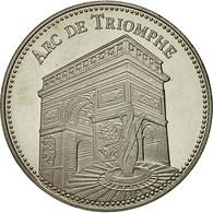 France, Médaille, Monuments De Paris, L'Arc De Triomphe, SPL+, Cupro-nickel - France