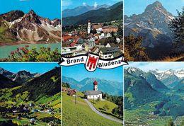 1 AK Österreich Vorarlberg * Ansichten Von Brand Und Bludenz - Mehrbildkarte * - Dornbirn