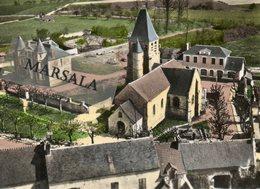 CPSM  Aincourt   L'église  Et Le Chateau - Francia