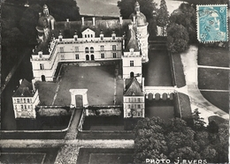 CPSM St-Georges-sur-Loire Chateau De Serrant Vue Aérienne - Saint Georges Sur Loire