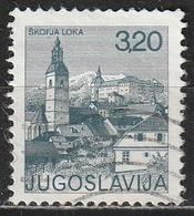 Jugoslavia 1975 Skofja Loka - Chiese - Cattedrali - Basiliche - Cappelle   Torri   Turismo   Vedute Di Città - 1945-1992 Repubblica Socialista Federale Di Jugoslavia