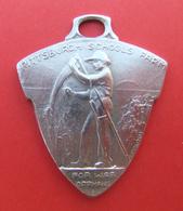 Médaille En Métal Blanc - Ferme École Pittsburgh Pour Orphelins De Guerre à Champagne Sur Seine - Professionals / Firms
