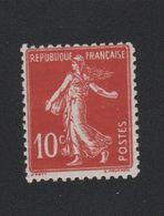 N° 138 10 C Semeuse Dit Faux De TURIN Gomme Charnière - France