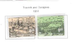 Bosnia Erzegovina  1998 Tranvic E Sarajevo  Scott.315+316 See Scan On Page - Bosnia Erzegovina