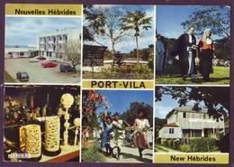 Nouvelles Hébrides - Vanuatu -  Port Vila - New Hébrides - Hôtel-prison-juge-noce Indigène-poste.. - Vanuatu
