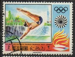 PIA - ARABIA DEL SUD-EST : RAS AL KHAIMA - 1971 : Giochi Olimpici Di Monaco - (Yv 63) - Saudi Arabia