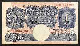 GRAN BRETAGNA Great Britain 1 Pound Taglietti   LOTTO 2038 - Banknotes