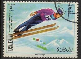 PIA - ARABIA DEL SUD-EST : RAS AL KHAIMA - 1972 : Giochi Olimpici Di Sapporo - (Yv 78) - Arabia Saudita