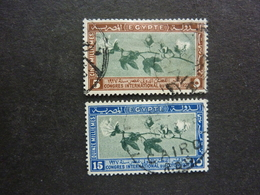 EGYPTE, Année 1927, YT N° 115 Et 117 Oblitérés - Egypt