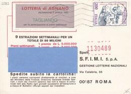 Sassone 1583 XXIII Giornata Del Francobollo Isolato Su Cartolina Concorso - 6. 1946-.. Repubblica