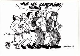 MOREAU Fabien   - Musique  Madness  Cartophiles Varois N°5 -   CPM  10,5x15 TBE Neuve Carte Convocation - Illustrators & Photographers