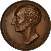 France, Médaille, J.C Fulchiron, Député Du Rhône, 1845, Schmitt, SUP, Cuivre - France
