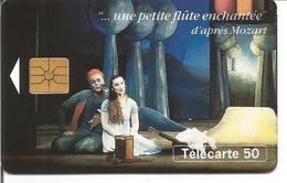 """Télécarte MOZART """" Une Petite Flute Enchantée """" 50 U GEM - 11/94 Utilisée ( N° 500 - Musique Opéra ) - Musik"""