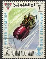 PIA - ARABIA DEL SUD-EST : UMM AL QIWAIN - 1968 : Giochi Olimpici Invernali Di Grenoble - (Yv  75) - Inverno1968: Grenoble