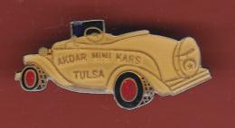 53202- Pin's-Automobile.Akdar Mini Kars Tulsa Ford Cabriolet. - Ford