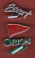 53208-lot De 3  Pin's-Automobile.Ford Escort.Orion.... - Ford