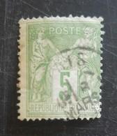 Type Sage Type Ll N° 106 - 1876-1898 Sage (Tipo II)