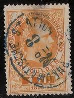 1874, Telegraph Nr. 16, Seltener Stp.! , #a715 - 1850-1918 Empire