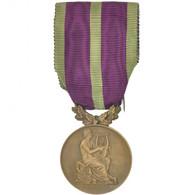 France, Sociétés Musicales Et Chorales, Médaille, 1924, Excellent Quality - Army & War