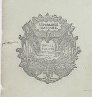 Carte Postale Correspondance Militaire 1915 / Liberté Egalité Fraternité / Ancre Soleil Drapeaux - 1914-18