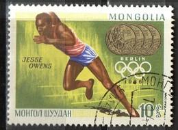 PIA - MONGOLIA  - 1969 : Vincitori Di Medaglie D'oro Alle Olimpiadi : Jesse Owens - Berlino 1936.  - (Yv 470) - Mongolia