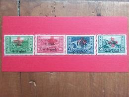 ALBANIA 1924 - Croce Rossa Nn. 100/03 Nuovi * + Spese Postali - Albania