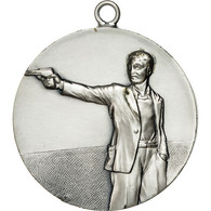 France, Médaille, Prix De Tir, SUP, Silvered Bronze - France