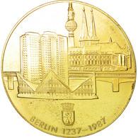 Allemagne, Médaille, 750 Ans De Berlin, 1987, SUP+, Copper Gilt - Allemagne